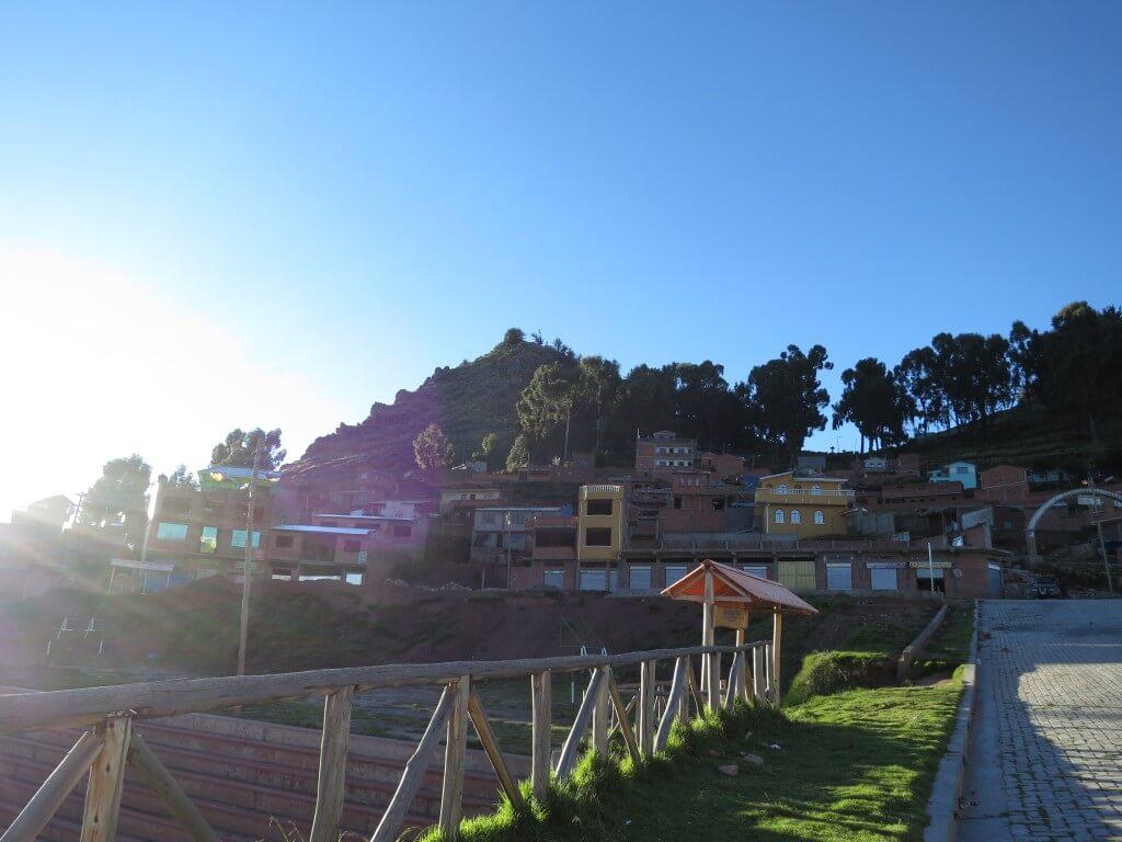 Calvario de Copacabana(カルバリオ山)からの眺めは好き♪