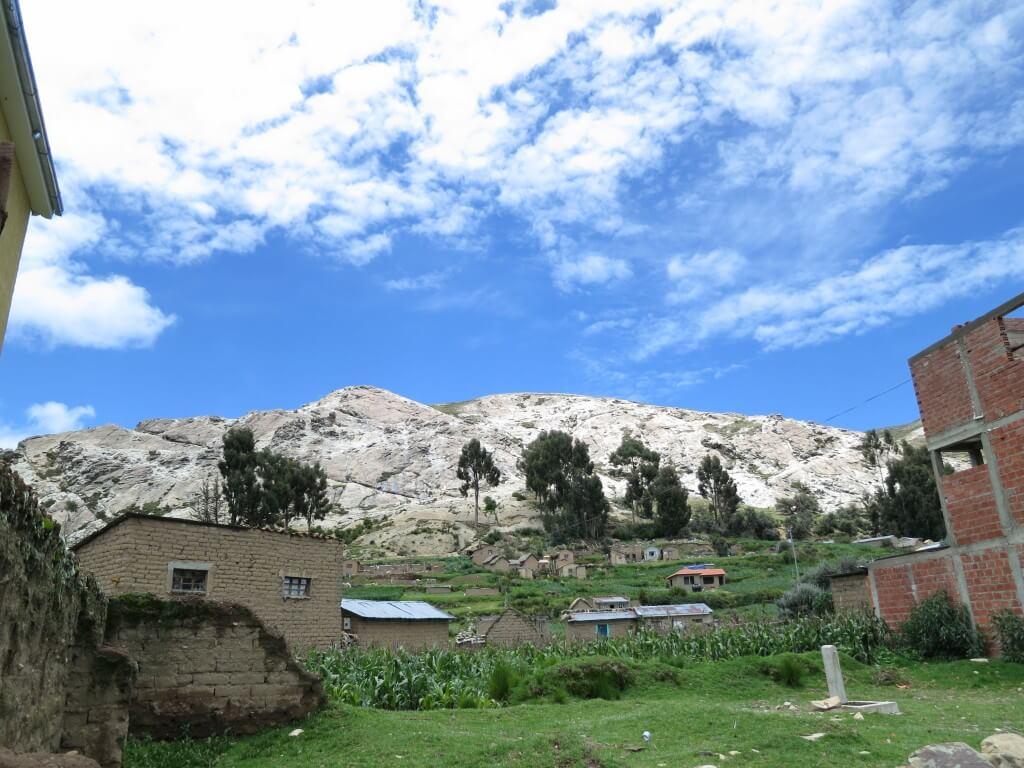 太陽の島 キャンプサイト コパカバーナ ボリビア