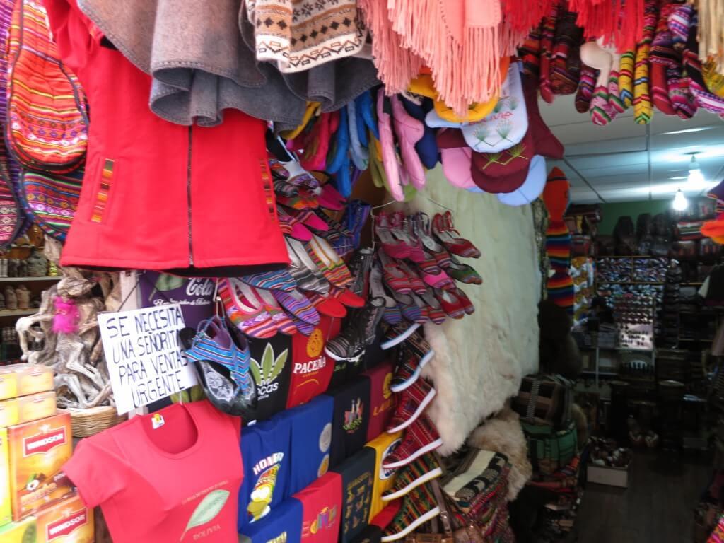ボリビアのお土産!アルパカ製品にボリビアのネクタイからお約束のパクリまで♪