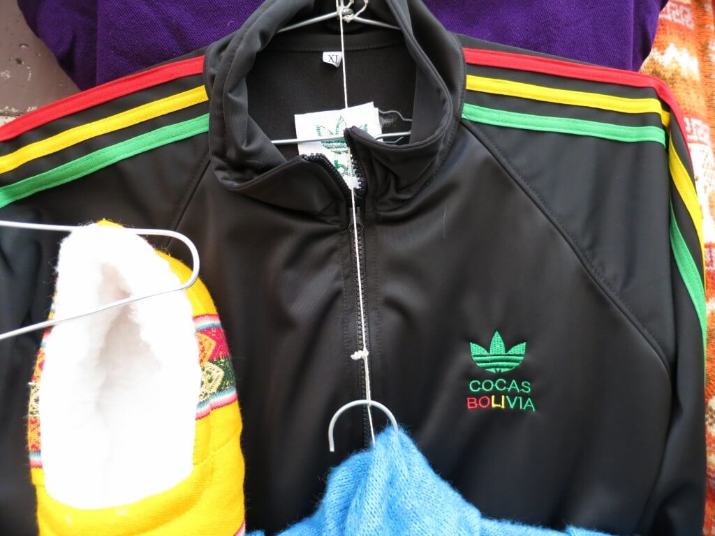 ボリビア お土産 パクリTシャツ