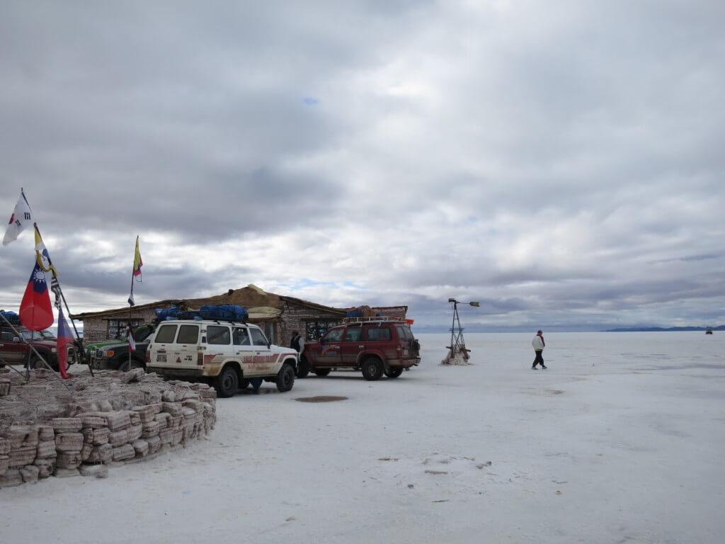 ウユニ塩湖 塩のホテル Hotel de Sal Luna Salada  ホテル ルナ サラダ