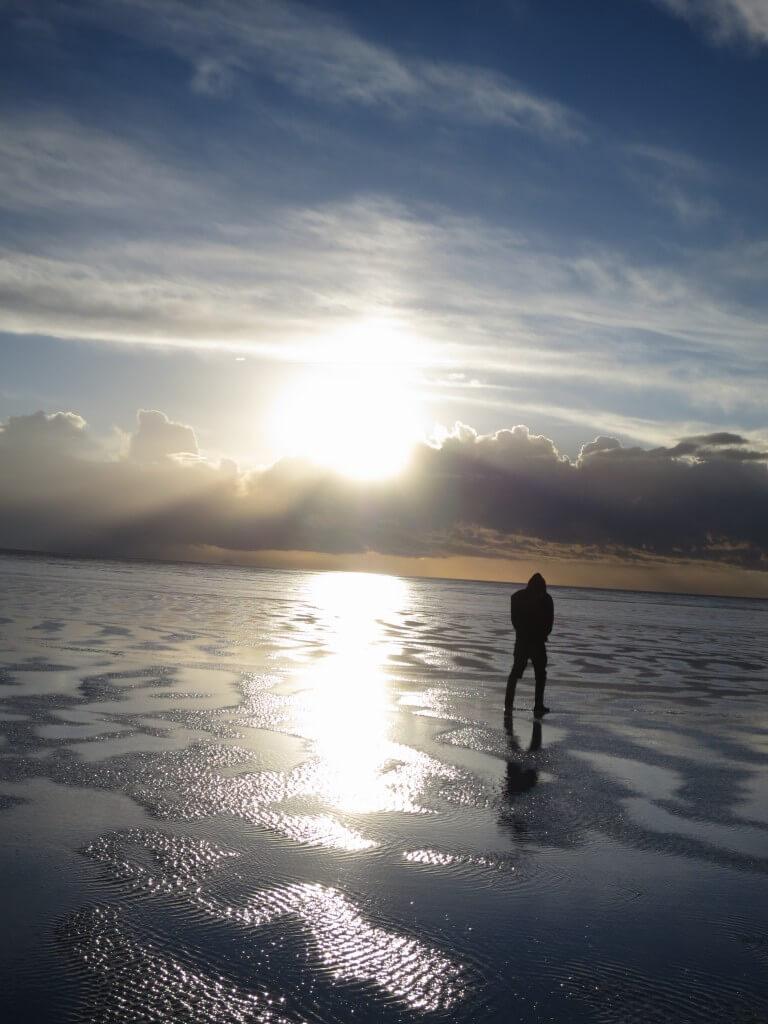 ウユニ塩湖 おしっこ ボリビア