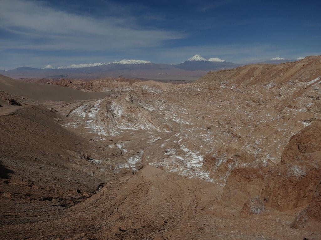 死の谷トレッキング 月の谷ツアー アタカマ チリ