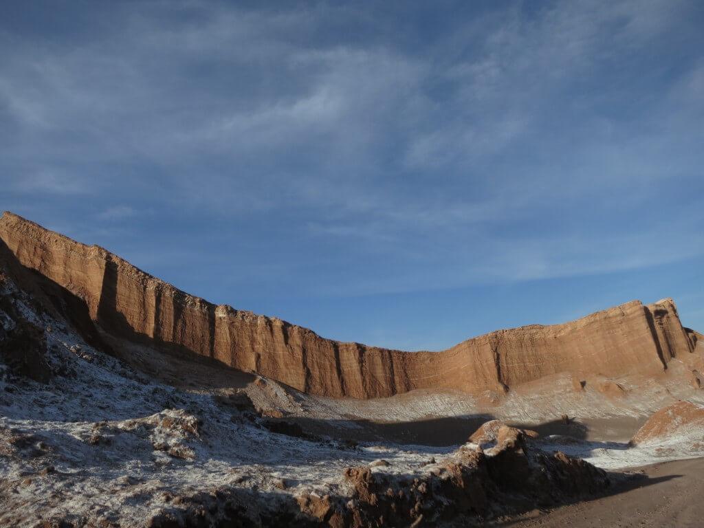 月の谷 1枚岩 アタカマ チリ