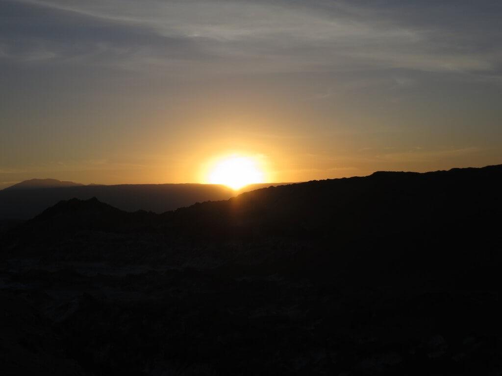 月の谷 サンセット アタカマ チリ