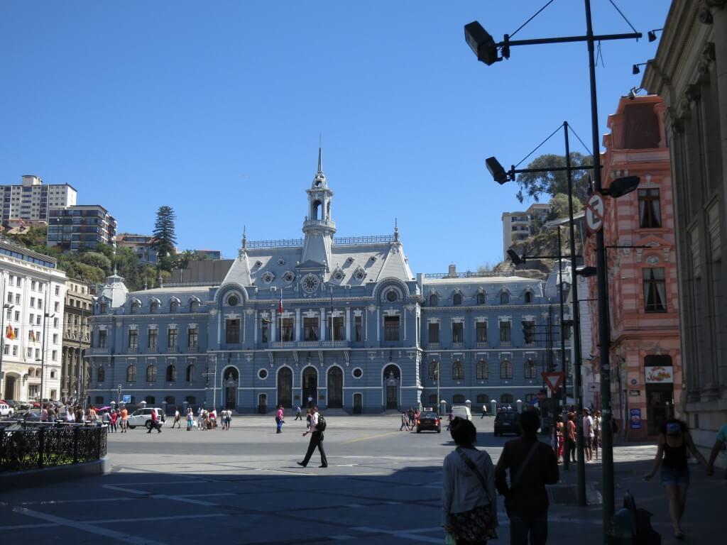 世界遺産バルパライソの街は近代的だった・・・。