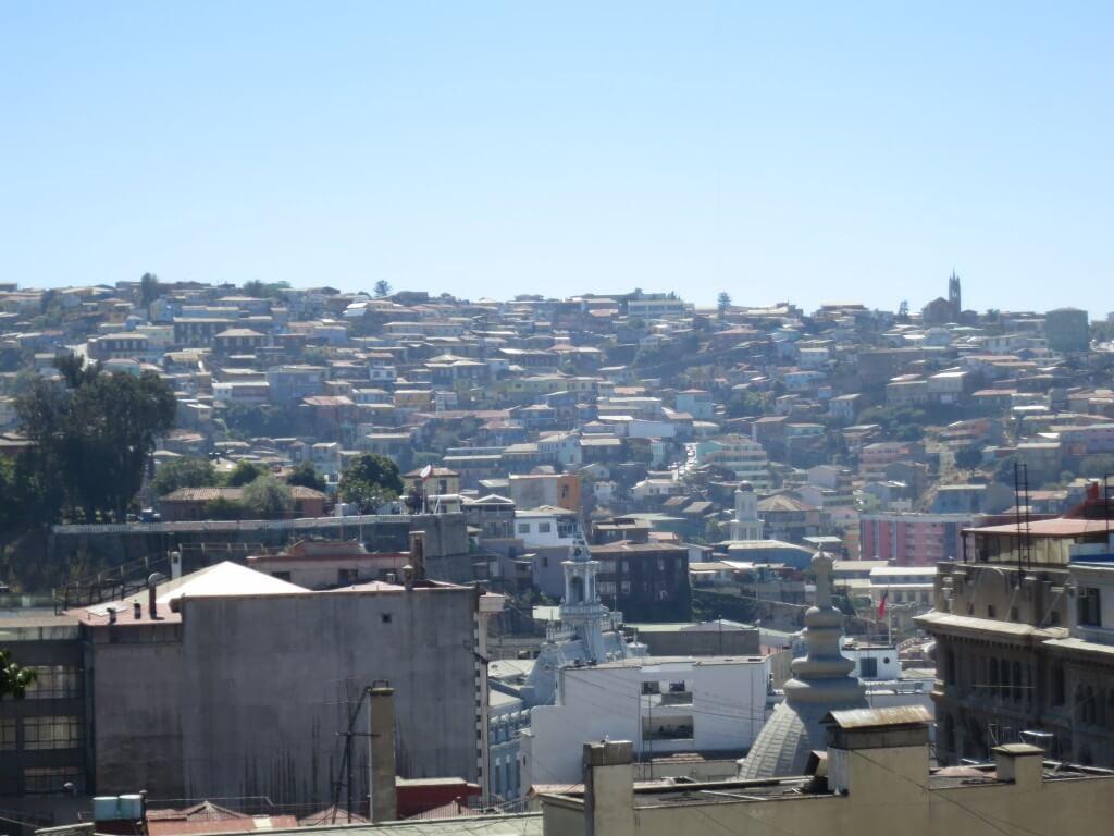 カラフルな街 バルパライソ 世界遺産 チリ