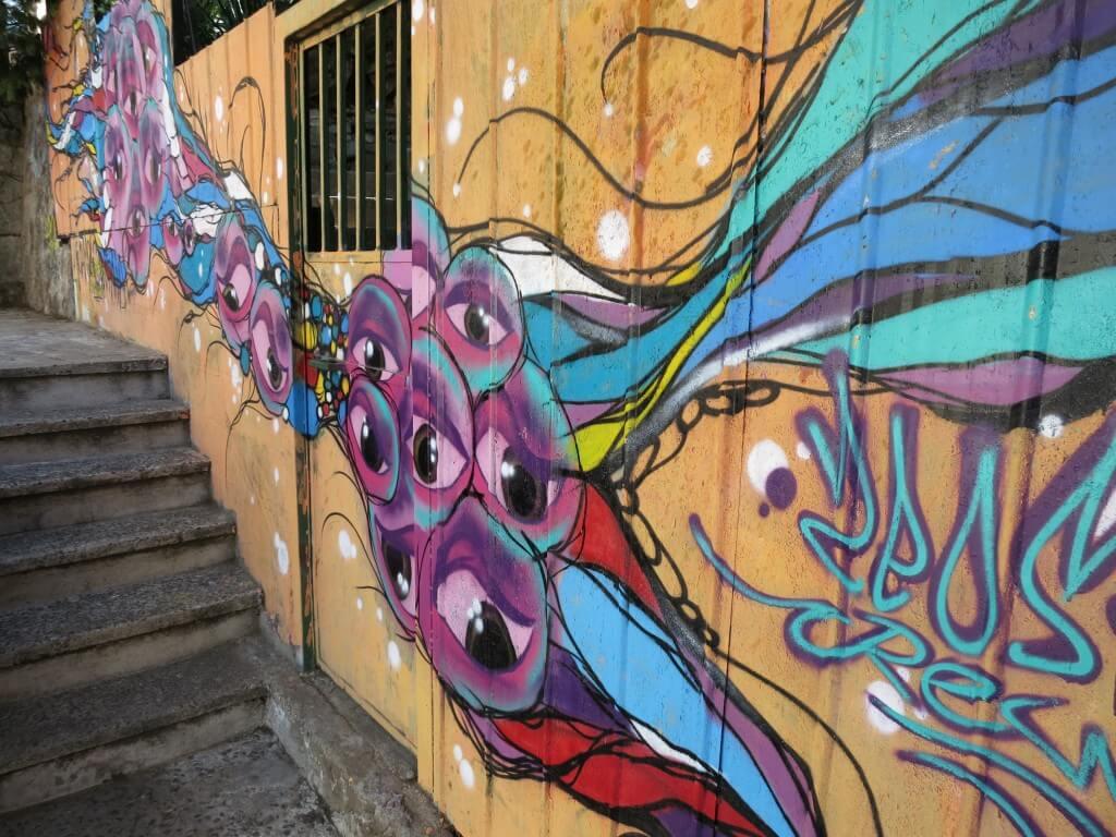 青空美術館 バルパライソ 世界遺産 チリ