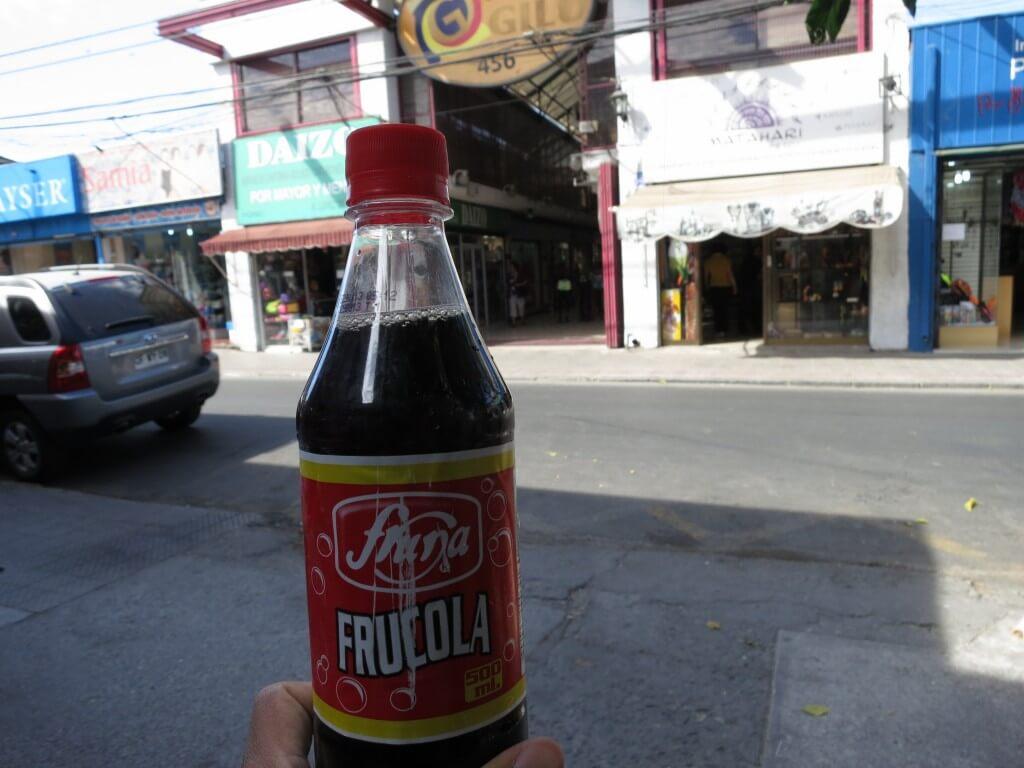 今日のコーラ チリの地元コーラ
