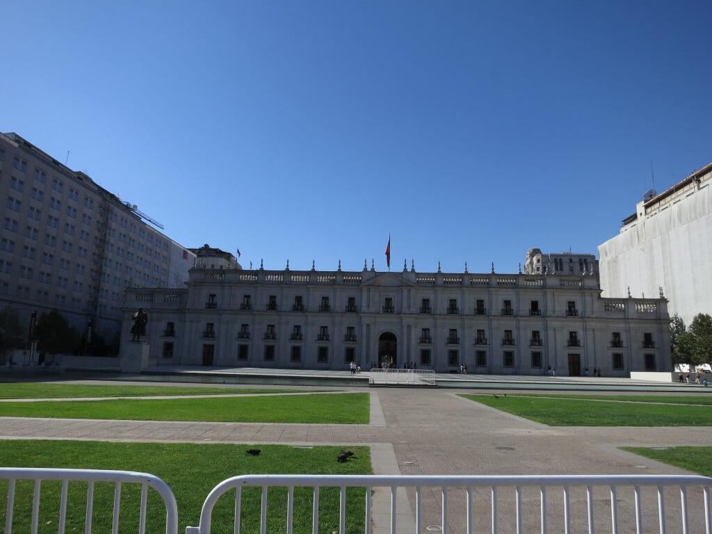 チリ サンティアゴ 宮殿