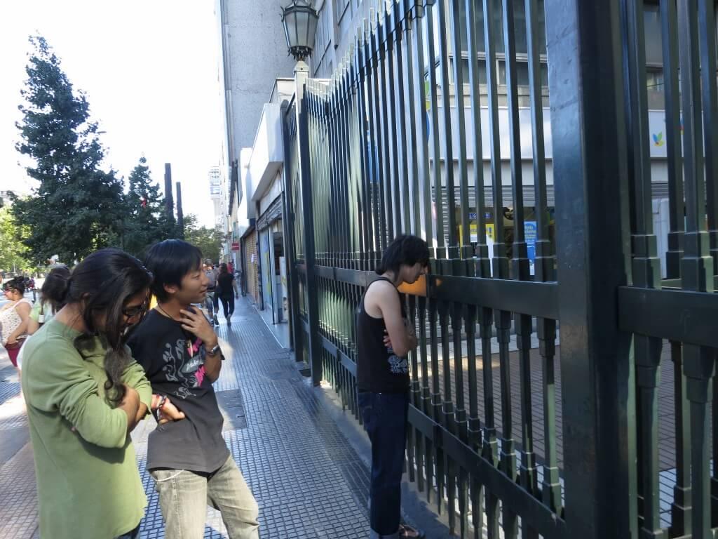 下着カフェ アンダーウェアカフェ 土日定休日 サンティアゴ チリ