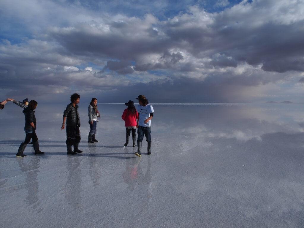 ウユニ塩湖の天気は変わりやすい!標高3,700mにあるのだから!
