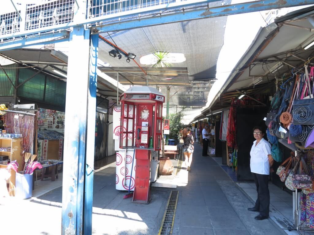 サンティアゴでラピスラズリのお土産を!民芸品市場に行くよ!