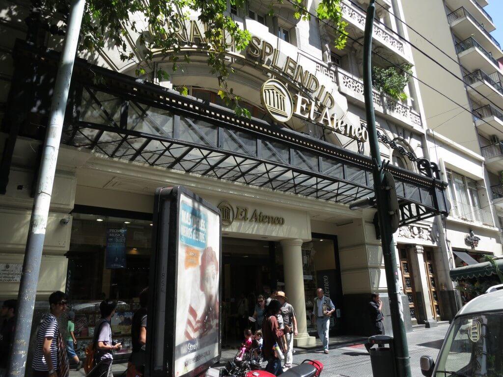 ブエノスアイレスにある「世界で2番目に美しい本屋さん」El Ateneo(エル・アテネオ)の行き方は?