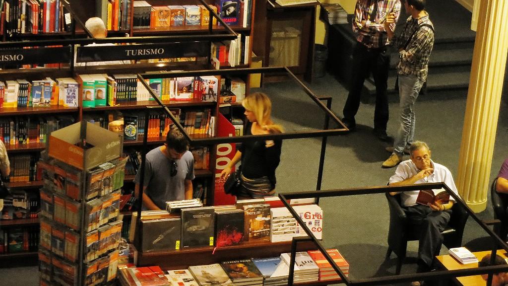 アルゼンチンの治安は?ブエノスアイレスの観光は世界で2番目に美しい本屋さんだよ