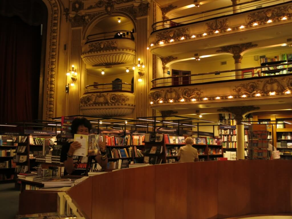 El Ateneo(エル・アテネオ) 世界で2番目に美しい本屋さん ブエノスアイレス アルゼンチン
