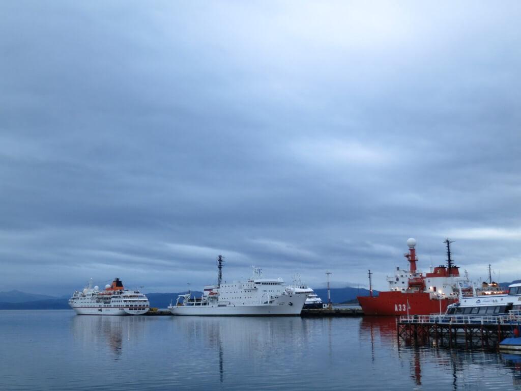 南極観測船 ツアー ウシュアイア パタゴニア アルゼンチン