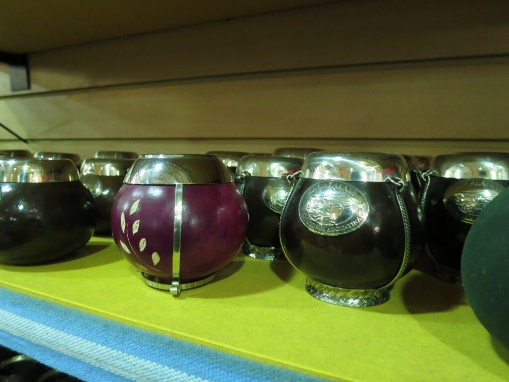 マテ茶 容器 お土産 エル・カラファテ パタゴニア
