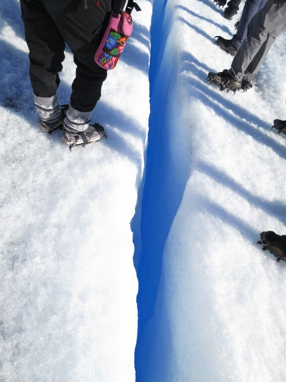 クレパス トレッキング ロス・グラシアレス公園 ペリト・モレノ氷河 パタゴニア
