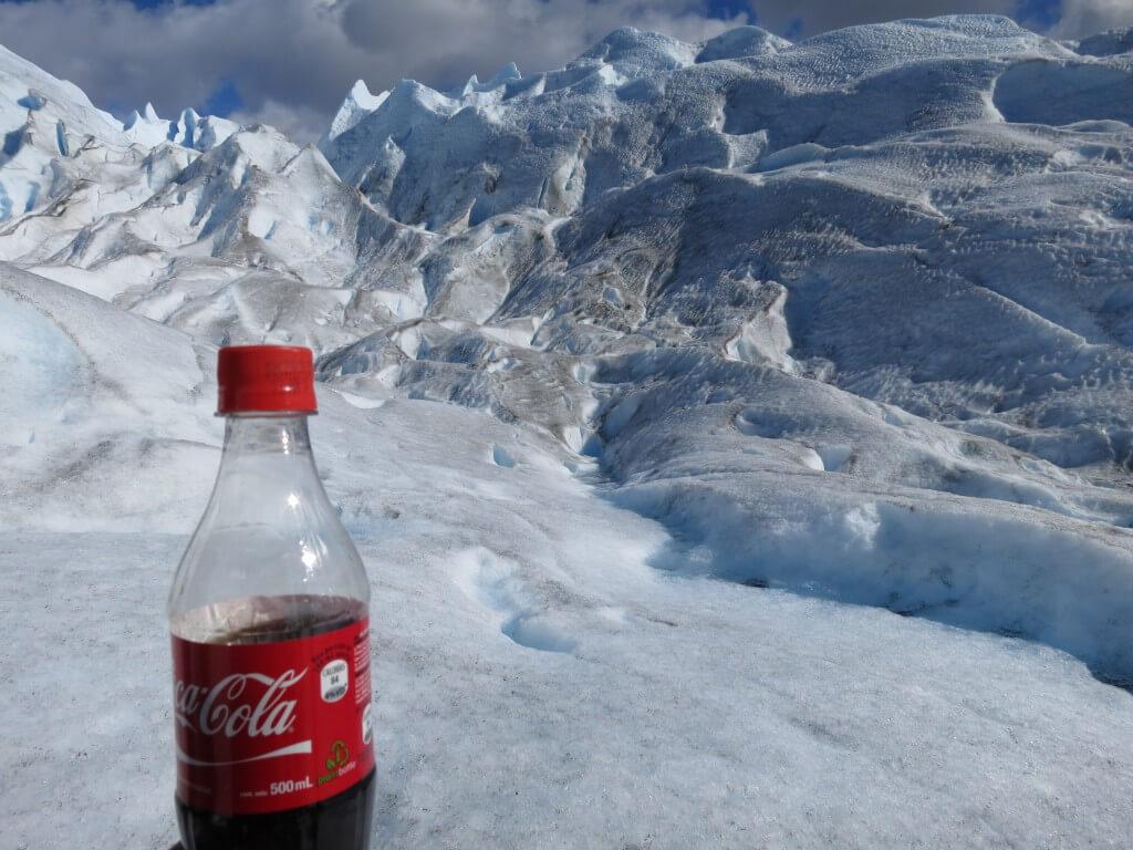 今日のコーラ ペリト・モレノ氷河トレッキング最高!