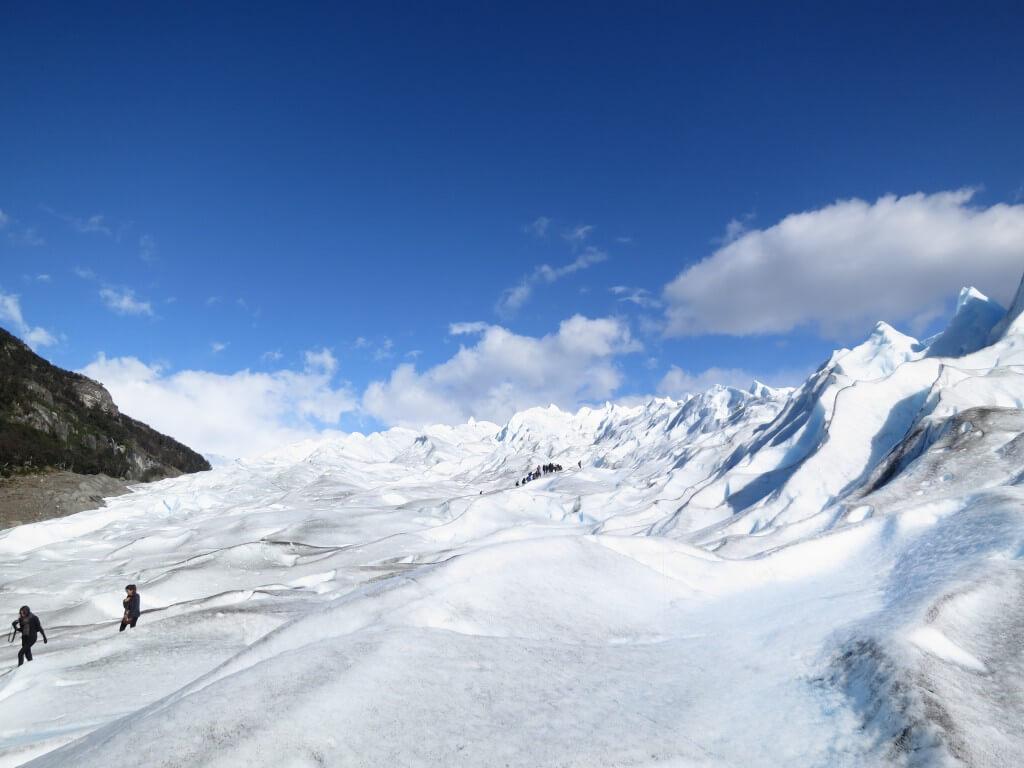 トレッキング ロス・グラシアレス公園 ペリト・モレノ氷河 パタゴニア