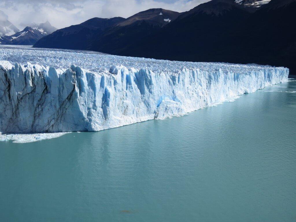 ペリト・モレノ氷河崩壊 展望台 ロス・グラシアレス公園 パタゴニア