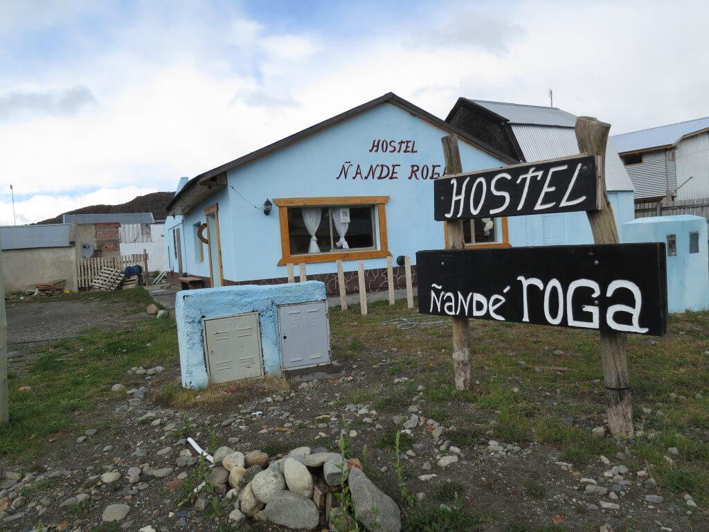 エル・チャルテンの安宿はホステル・ナンデ・ロガ(HOSTEL NANDE ROGA)