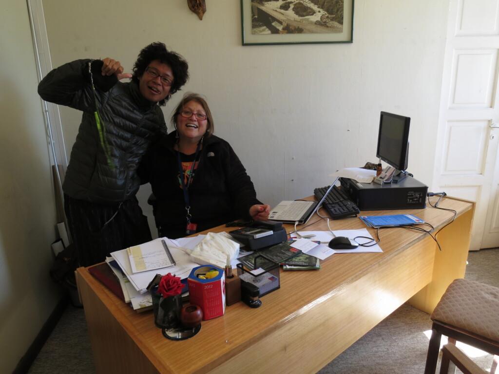 チレ・チコの観光案内所のおばちゃん超親切!