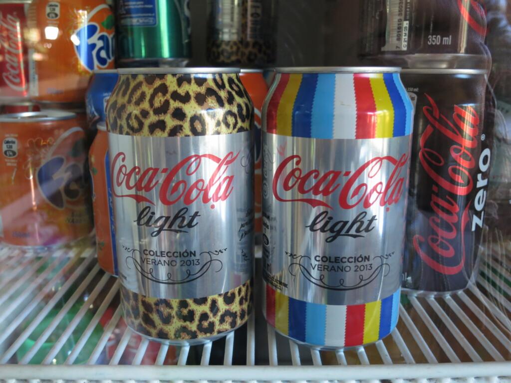 今日のコーラ 豹柄とレインボーなコーラ