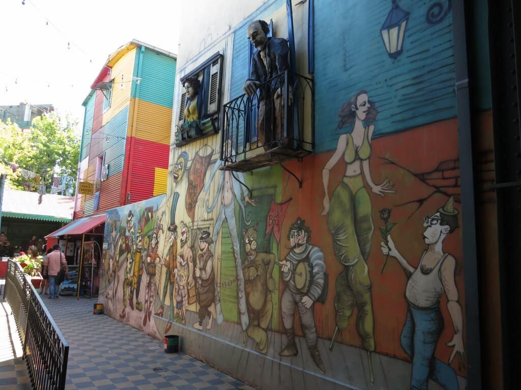 ボカ地区 アート アルゼンチン