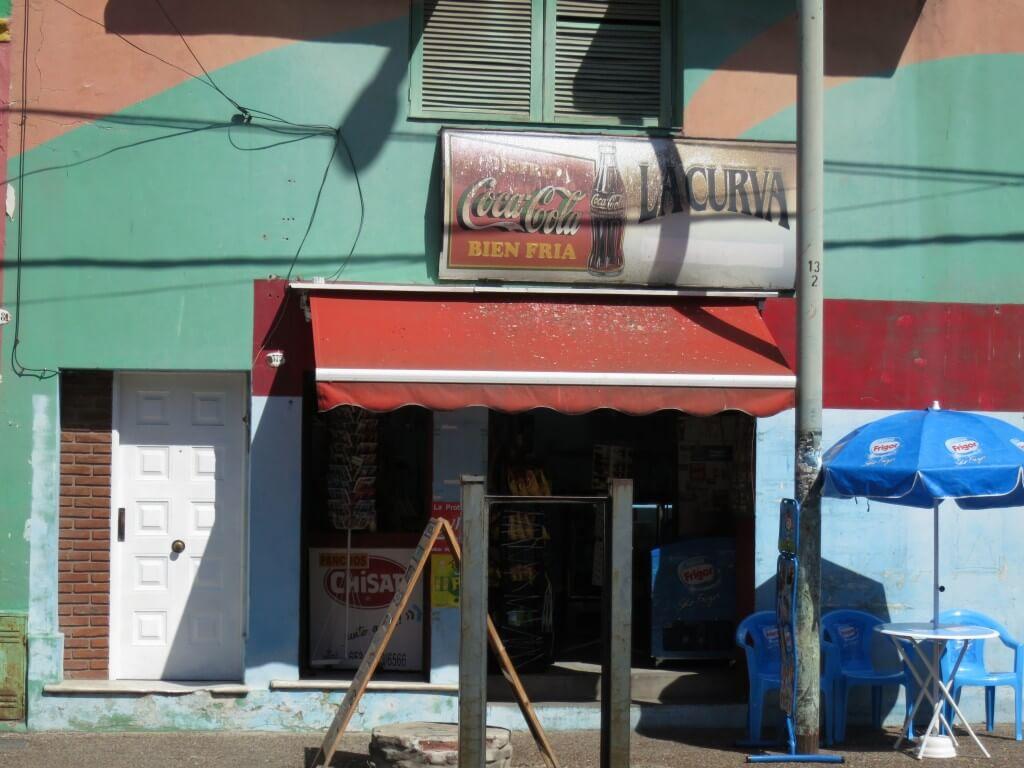 今日のコーラ ボカ地区の駄菓子屋みたいなコカコーラ