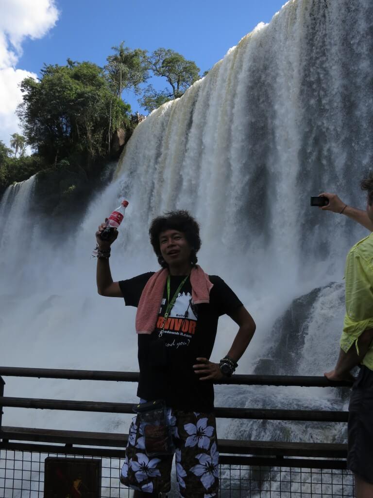 今日のコーラ イグアスの滝と
