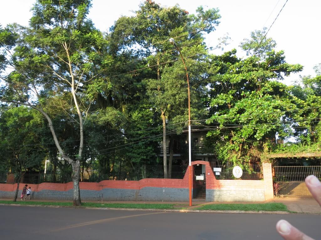 プエルト・イグアスの街でブラジルビザを取得できるよ!