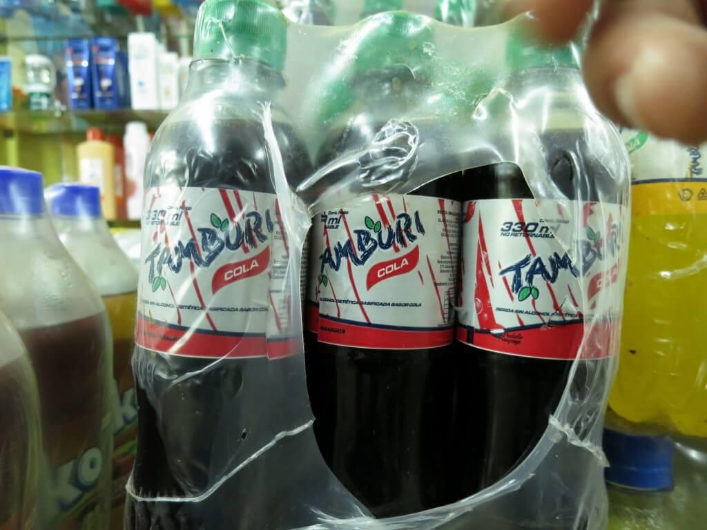 今日のコーラ イグアス居住地で見つけたTAMBURIコーラ!