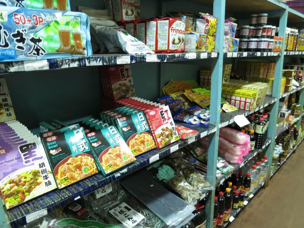 日本食材 イグアス居住地 スーパー 農協 パラグアイ