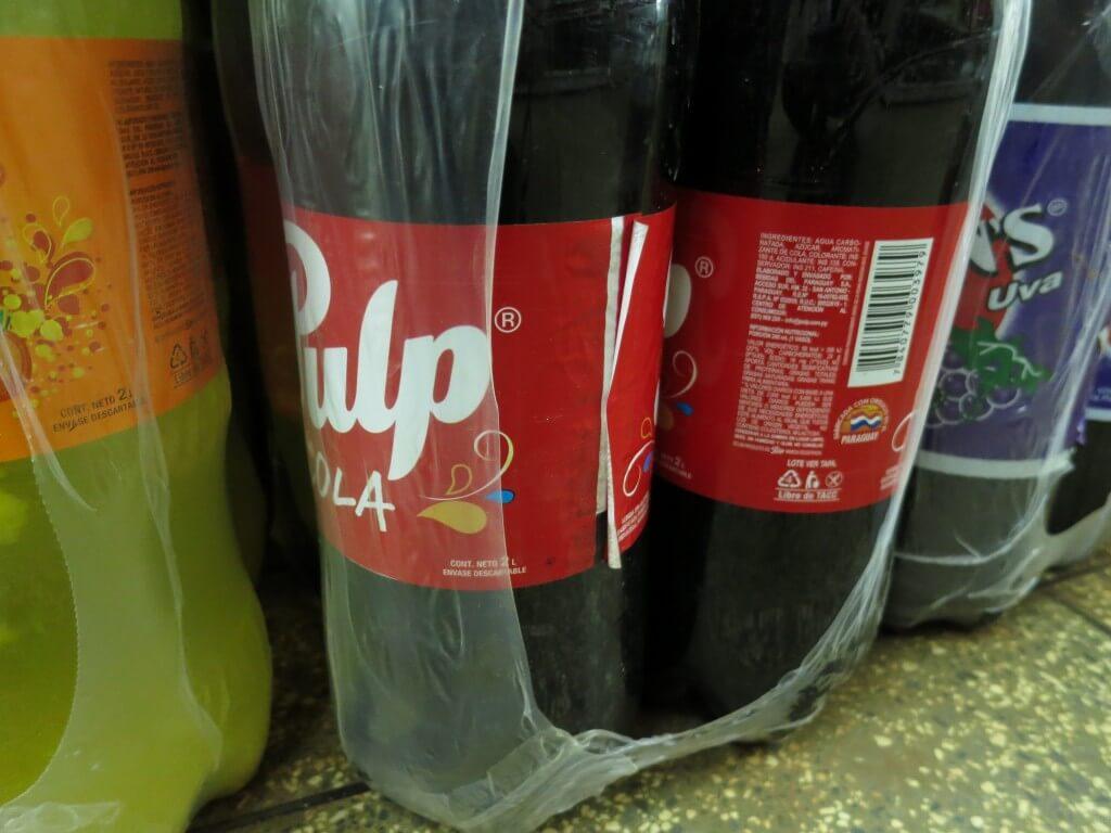 今日のコーラ パラグアイのコーラ