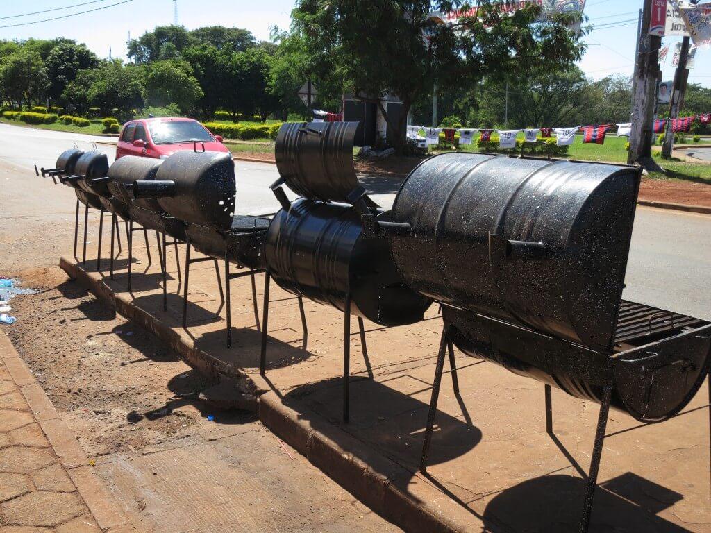 アサードセット BBQセット シウダー・デル・エステ パラグアイ
