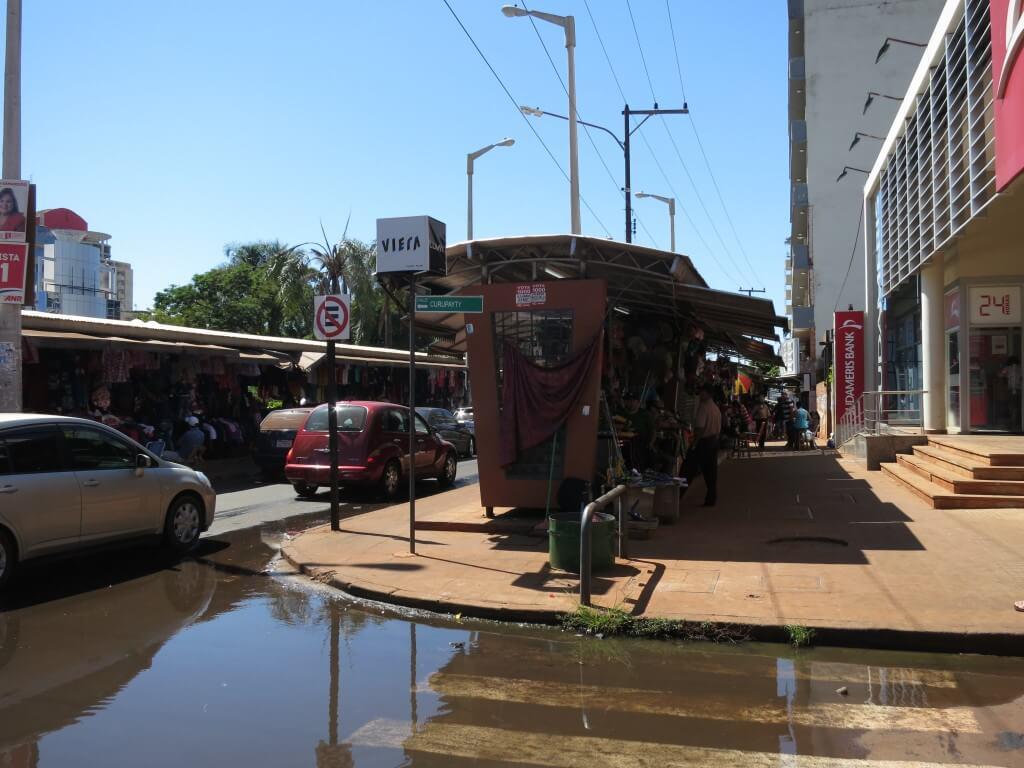 パラグアイの中でも治安が悪いお買い物天国シウダー・デル・エステ