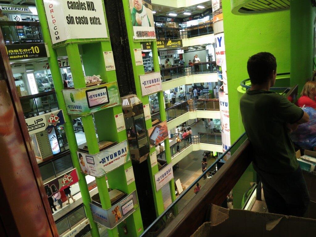 Lai-Lai Center シウダー・デル・エステ 電化製品が安い パラグアイ