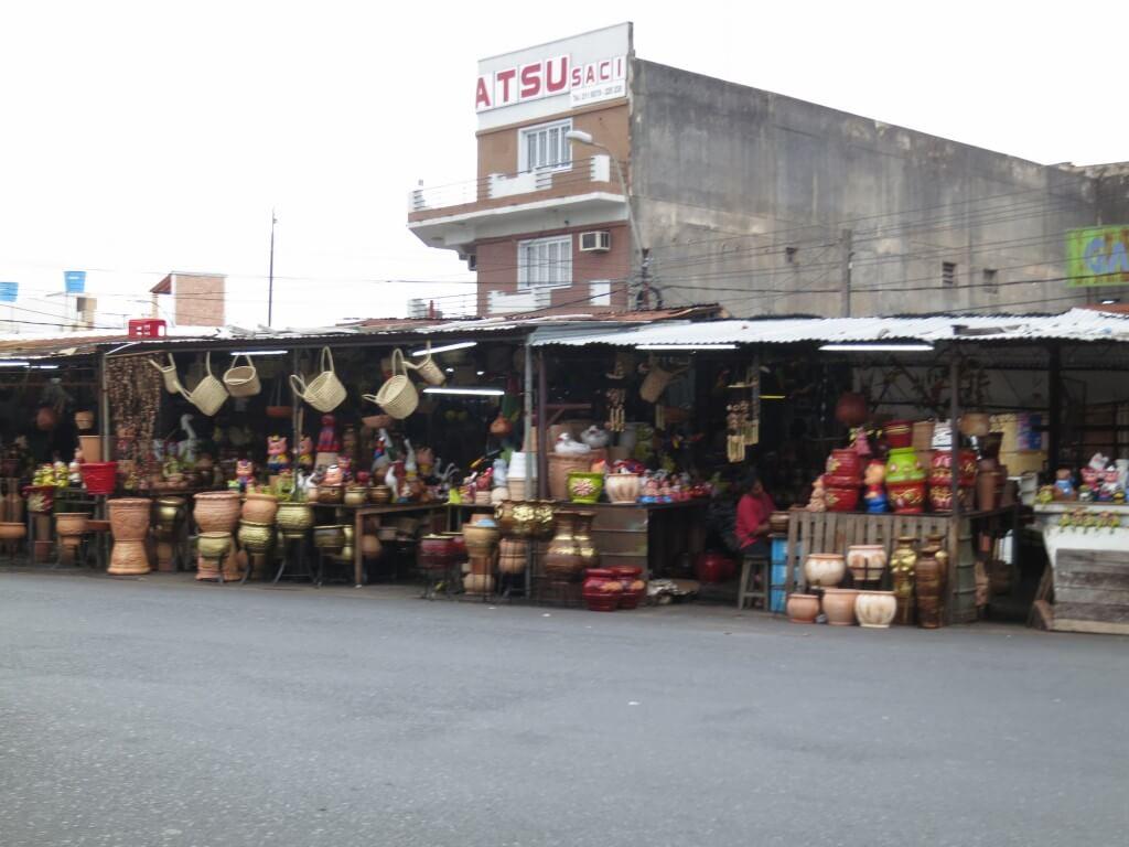 近所だけではない!アスンシオンのメルカド4はアジアだぞ!パラグアイのお土産もあるよ!