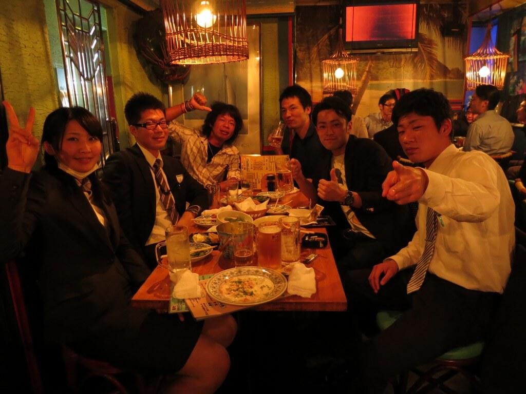世界一周中に出会った仲間、友達と日本での再会!嬉しい瞬間だね♪
