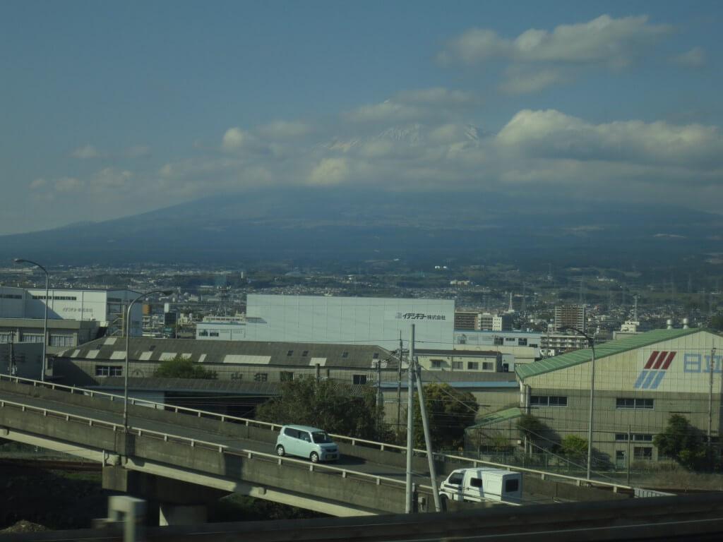富士山 新幹線 日本