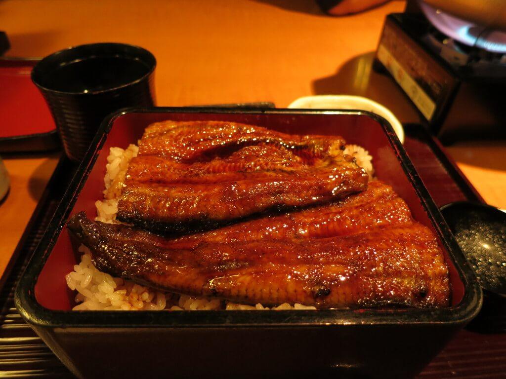 世界一周 費用 日本食 うなぎ