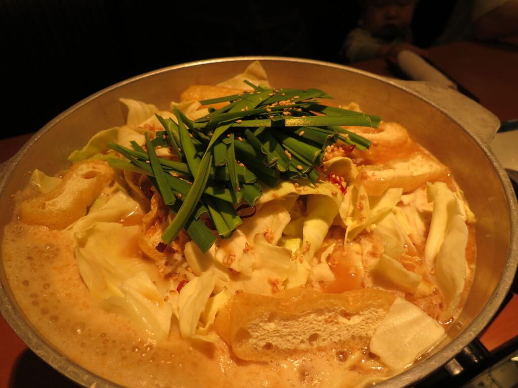 世界一周 費用 日本食 もつ鍋