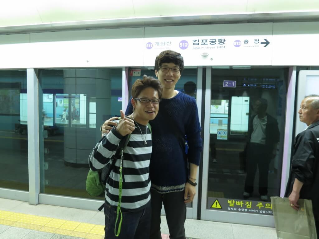 韓国人の友達がガイドしてくれてのおすすめの韓国旅行&韓国スタート