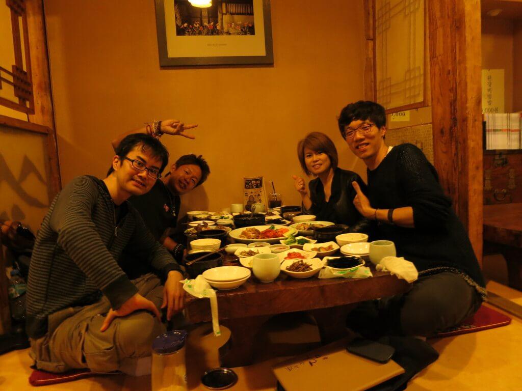 韓国料理 カニの刺身 カニスキ