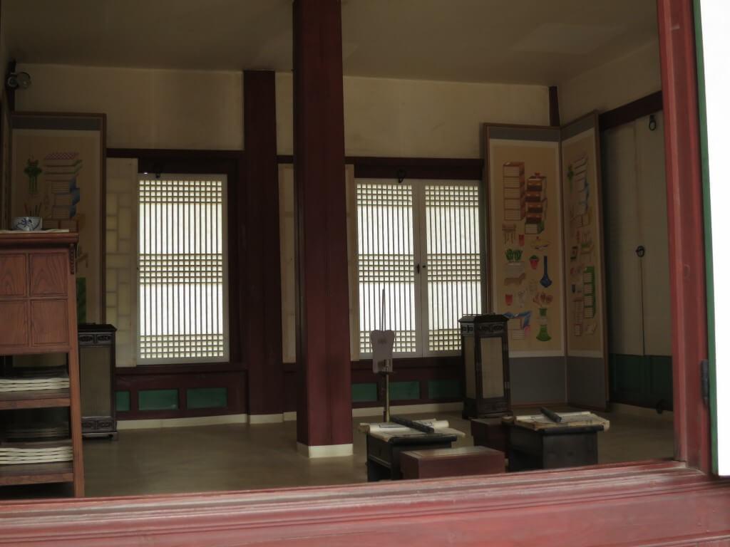 景福宮の中は沖縄の匂いがする!