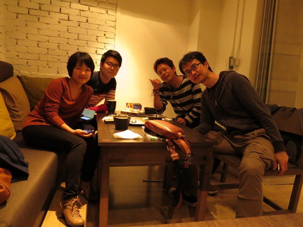 ソウルに戻ってきてからもOKEAのバッチメイトと再会は続く・・・・