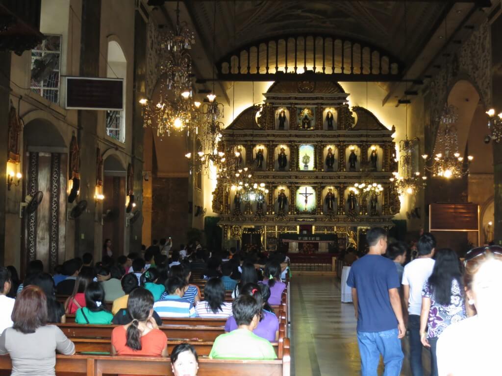 セブ島 コロン ダウンタウン サント・ニーニョ教会(Santo Niño church)