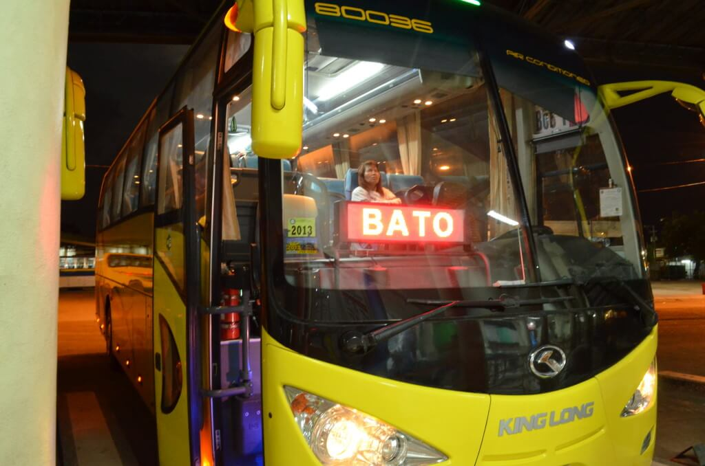 オスロブ行き バス BATO バト